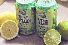 Nuevo Vichy Catalán Plus Lima Limón en lata (foto de Chocoas)
