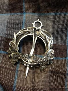 Beautiful Brooch from Outlander costumer designer Terry Dresbach. Love that girl's sense of style!