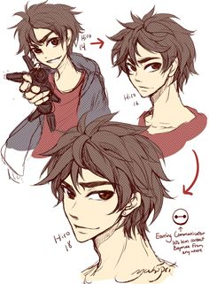 Hiro in different ages. Cuteness... Overload!