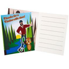 LumberJack Thank-You Notes