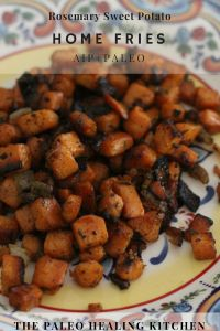 This is my go-to AIP/Paleo sweet potato breakfast recipe. It is easy and quick to make and always fills me up, and did I mention that it is delicious? Sweet Potato Home Fries, Paleo Sweet Potato, Sweet Potato Breakfast, Breakfast Potatoes, Paleo Breakfast, Breakfast Recipes, Food Print, Dinner, Healthy