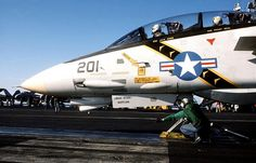 F-14A Tomcat VF-84 Jolly Rogers: Ready to take off