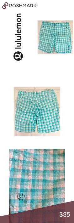 Lululemon Adventure Shorts Good condition. Has zipper on left side of shorts. lululemon athletica Shorts