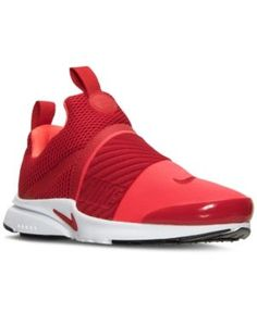 Nike Boys' Presto Extreme Running Sneakers from Finish Line - Red