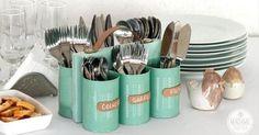 Recicla tus latas de metal con mucha creatividad