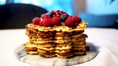 no - Finn noe godt å spise Pancakes And Waffles, Sweet Recipes, Brunch, Food And Drink, Healthy Eating, Appetizers, Cooking Recipes, Snacks, Dessert