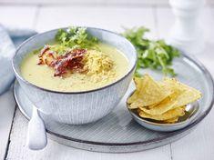 feestmenu's: van gemakkelijk tot van bij ons Belgian Cuisine, Cookie Do, Tortilla Chips, Hummus, Mashed Potatoes, Food And Drink, Veggies, Tasty, Healthy Recipes