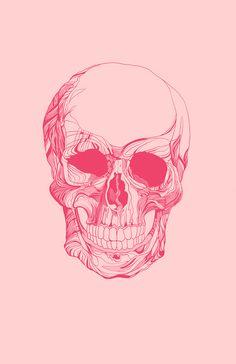 Skull Art Print By David Waters