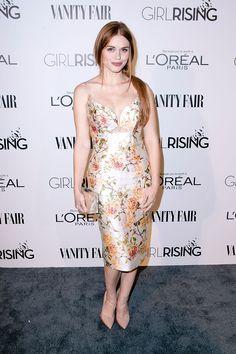 Long dress for girl rising