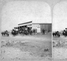 Indians trading at Gunnison :: Western History