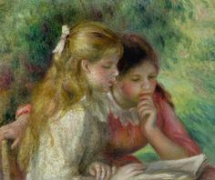 Renoir.  Sisters.