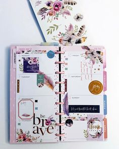 Time Planner, Planner Layout, Planner Pages, Planner Stickers, Planner Ideas, Planer Organisation, Digital Bullet Journal, Discbound Planner, K Om