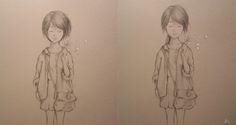Chibi, Facebook, Female, Drawings, Hair, Life, Sketches, Drawing, Portrait