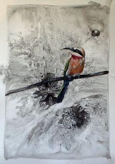 To Sing Sweeter (II) Figurative Art, Paper Art, My Arts, Joy, Birds, Animals, Papercraft, Animales, Animaux