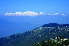 The Himalayan Trial to Bhutan -   Scenic view of Darjeeling and the Himalayan mountains