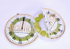 How clever is this 12 grapes clock #packaging PD