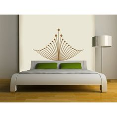 Royal Crown Headboard Wall DECAL-interior design, tattoo, sticker art, room, home and business decor Headboard Decal, Crown Royal, Wall Decals, Sticker, Room Decor, Indoor, Tattoo, Interior Design, Interior