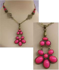 Burnished Gold & Pink Celtic Knot Pendant Necklace  http://cgi.ebay.com/ws/eBayISAPI.dll?ViewItem=151019328104