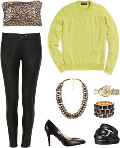"""lime green sweater 