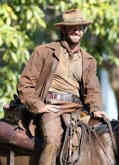 Hugh Jackman as Mr Drover in Australia