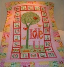 Adorable custom made quilts for kids of all ages.