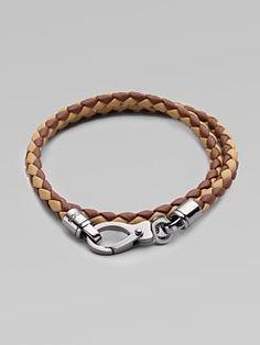 Tod's Men's leather bracelet