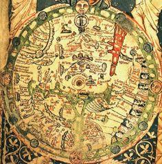 Mappa Mundi del Salterio XIII sec.