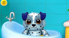 Apps for kids - Puppy playhouse dog daycare. Funny game for kids