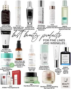 Skincare Best Sellers for Fine Lines and Wrinkles Top Beauty, Beauty Makeup, Beauty Tips, Beauty Hacks, Mini Facial, Best Skincare Products, Unique Makeup, Radiant Skin, Blogger Tips
