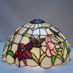 Butterfly Tiffany Lamp16S5-45