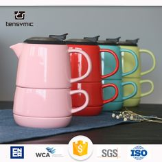 Tensymic Ceramic Tea For One Set Wholesale With S/s Lid , Find Complete Details about Tensymic Ceramic Tea For One Set Wholesale With S/s Lid,Tea For One Set Wholesale,Tea For One,Tea For One Set from Coffee & Tea Sets Supplier or Manufacturer-Chaozhou Tensymic Co., Ltd.