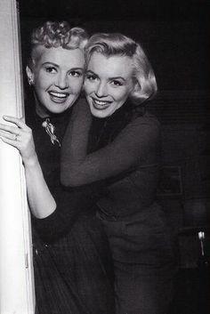 Double Trouble: Betty Grable & Marilyn Monroe