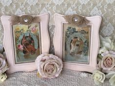 A personal favorite from my Etsy shop https://www.etsy.com/listing/259458425/pink-nursery-horse-prints-horse-decor