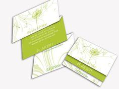 Einladungskarten-Hochzeit - Pusteblume