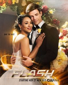 "MY BABIES. MY BABIES! I know this whole thing's going to go wrong (because what's a superhero wedding without a lot of chaos?), but I don't care. I can't wait to watch these two get hitched! :) <3 <3 <3 |TV Shows|CW|#TheFlash Season 4|""Crisis On Earth X""