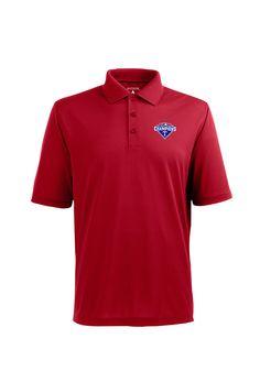 Texas Rangers AL West Champions Red Polo http://www.rallyhouse.com/texas-rangers-mens-red-pique-xtra-lite-short-sleeve-polo-3231895?utm_source=pinterest&utm_medium=social&utm_campaign=Pinterest-TexasRangers $44.99