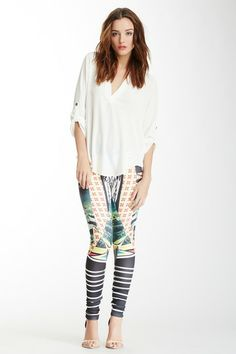 Romeo & Juliet Couture Printed Legging on HauteLook