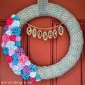 Linked to: www.thinkingcloset.com/2014/04/18/35-gorgeous-spring-wreaths/