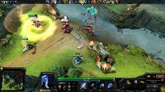 DOTA 2 - Drow Ranger Gameplay - Online 5 vs 5 Multiplayer