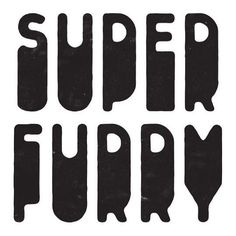 Simon Walker / Super Furry in Logotype / Mark Typography Love, Typographic Design, Typography Letters, Graphic Design Typography, Lettering Design, Typography Quotes, Logos Vintage, Logos Retro, Branding