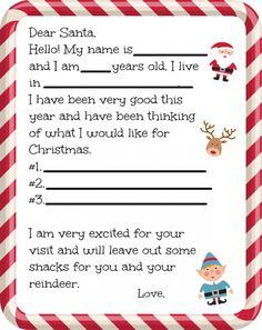 free dear santa letter printable farmers wife rambles