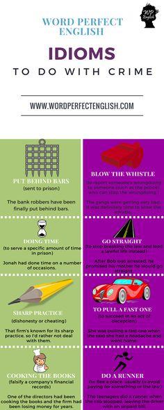 english idioms list