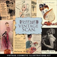 Freebies Kit Vintage