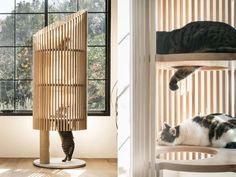 Neko Cat Tree Costs More Than a Condo's Annual Rent - Stefanie - Neko Cat Tree Costs More Than a Condo's Annual Rent sculptural Neko cat tree - Cat Tree Designs, Diy Cat Tent, Tree Furniture, Furniture Movers, Cat Playground, Neko Cat, Cat Scratcher, Cat Room, Cat Condo