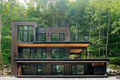 Lake Champlain Retreat by Atelier BOOM TOWN