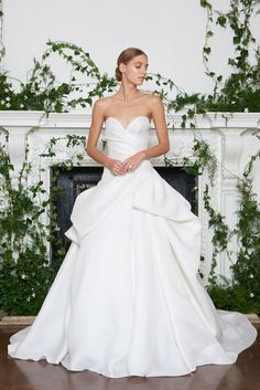 e644966263 silk satin weddingdress cheongsam — everythingsparklywhite  Fall 2018 Bridal  Trend ... Monique Lhuillier