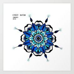 Mandala 3 Art Print by lhayton | Society6