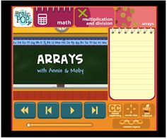 Purely Paperless: It's Array-zing: Digital Tools in Math!