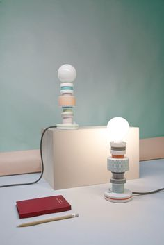 Italian designer Alessandro Zambelli- Lighting (contemporary ceramics cfile)