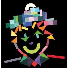 Un puzzle de divertidos colores formado por 59 piezas con el que tus pequeños podrán aprender a crear nuevas formas y figuras. Ayuda a desarrollar la imaginación y motricidad de sus pequeños #juguetes #tangram